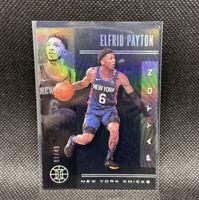 Elfrid Payton 2019-20 Illusions Black Numbered 01/49 Rare Panini NBA #95 KNICKS