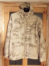 RARE MEN'S SCHOTT NYC MILITARY GEAR REVERSIBLE HOODED JACKET  LARGE  DESERT CAMO