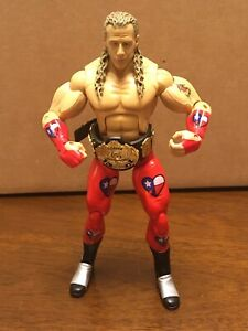 WWE Jakks Deluxe Classic Superstars S2 Shawn Michaels Figure Loose Mint WWF