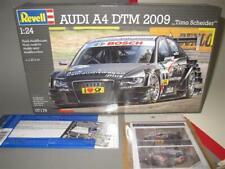 1/24 Revell Audi A4 DTM 2009 With Ekström RB decals + Pe-parts