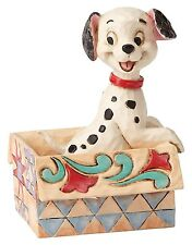Disney Traditions Small Ornament Lucky Mini Resin 101 Dalmatians Puppy Figurine