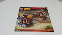 LEGO STARWARS  !! INSTRUCTIONS ONLY !! FOR 7258 WOOKIEE ATTACK