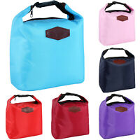 Insulated Thermal Cooler Lunch Box Portable Tote Picnic Buckle Food Storage Bag