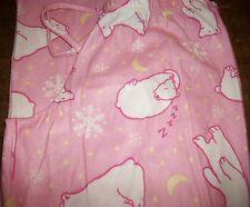Girls Pajama Pants sz 10 OLD NAVY Pink w/Polar Bears, Stars & Snowflakes NEW