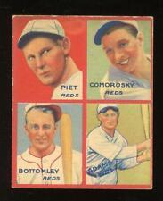 1935 Goudey - Adams, Bottomley (HOF), Comorosky & Piet - Cincinnati Reds