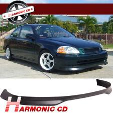 Fits 96-98 Honda Civic Type R Front Bumper Lip Spoiler Body Kit Polypropylene