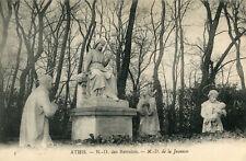 Carte ATHIS MONS Notre Dame des Retraites Notre Dame de la jeunesse Sculpture