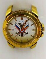 Vostok  Komandirskie wrist watch vintage Russian military Airborne VDV