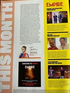 Empire Sept 2019 Movie Magazine 30-Years Ltd Ed Cover Michael Keaton as Batman
