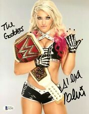 WWE ALEXA BLISS HAND SIGNED  AUTOGRAPHED 8X10 PHOTO WITH PROOF & BECKETT COA 1