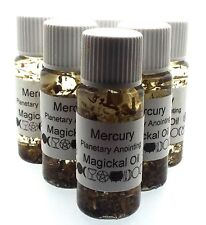Mercury Planetary Herbal Infused Botanical Incense Oil
