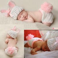 Foto Kostüm Neugeborene Jungen blau Mädchen rosa Osternhase.Fotoshooting.Farbe*-