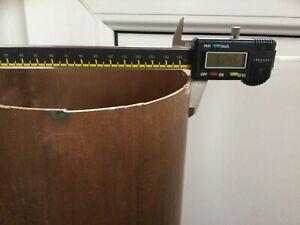 70 Cm X158 Mm Outside Diameter Copper Pipe /tube. Off Cut.
