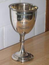 More details for large antique saluki silver dog show trophy 1907 famous dog crufts