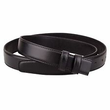 """Replacement Black Leather Belt for Mens belts Womens For Ferragamo buckles 36"""""""