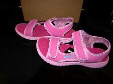 Brand New Girls Pink & Blue Teva Tidepool Sandals, Size 4