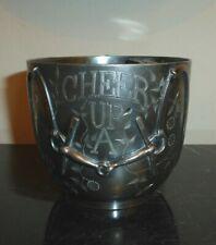 Vintage Pairpoint MFC Co Quadruple Silver Plate Ornate Mustache Cup