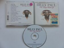 BILLY PAUL The very best of  ver 478193 9 CD ALBUM