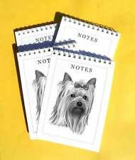 Yorkshire Terrier Pack of 4, A6 Dog Notepads Gift Set