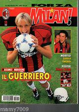 FORZA MILAN!=N°11 1998=MASSIMO AMBROSINI GEORGE WEAH COSTACURTA RAMACCIONI MALDI