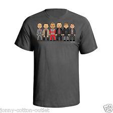 VIPwees Liverpool Cult Managers Mens Football T-Shirt Shankly Dalglish V177