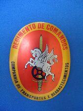 PORTUGAL COMANDOS COMMANDOS UNIT BADGE TRANSPORTES E REABASTECIMENTOS