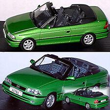 Opel Astra F Cabriolet 1992-98 grün green metallic 1:43 Ixo