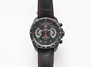 TAG Heuer CAV518B Grand Carrera Automatic Chronograph Watch - NO RESERVE