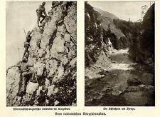 1915 * Österreichische Soldaten im Krngebiet & am Isonzo *  WW1