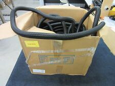 """120+ FT CONVOLUTED SPLIT LOOM CABLE WIRE TUBING 1"""" BLACK FLEXIBLE ELECTRONICS"""