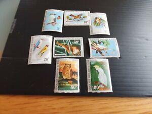 BENIN 1982 SG 861-868 BIRDS MNH