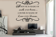 Living Room Wall Art Sticker Quote Decal