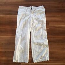 GAP WOMEN'S WHITE CASUAL PANTS - SIZE 10
