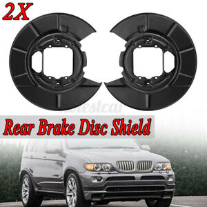 2X Rear Disc Brake Back Plates For BMW X5 E53 2000-2006 4216750386,