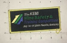 KEMI Mine Safety & Training Competition Patch - 2009 - Kentucky