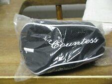 Ladies Powerbilt Countess Driver Headcover Black/White Brand New Free Ship!