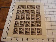 unused Sheet of Noyta CCCP 1963 4K B. A. AYPOB perhaps an author ??