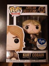 Kurt Cobain Fye Exclusive Funko Pop Rocks #67 Nirvana