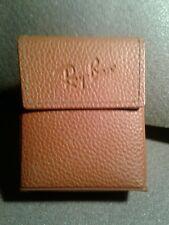 Ray Ban Sunglasses Folding Case, Tan, For Wayfarer Clubmaster. Pristine.