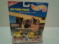 hot wheels  action pack construction rare
