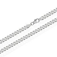 925 Sterling Silber Kette PANZERKETTE 55cm Königskette 4,70mm Breit 27,5gr 1840
