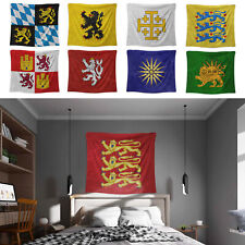 Medieval Banner Tapestry Emblem Flag Wall Hangings 100cmx125cm Home Wall Decor