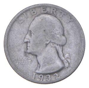 RARE Key Date - 1932-D Washington Quarter - First Year - TOUGH *331