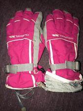 Trespass Tres-tex Karla Ski Gloves Size S - Hot Pink