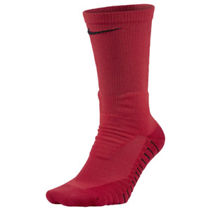 Nike Vapor Cushioned Football Crew Socks, Size L, XL, Red Athletic B44 (MP)