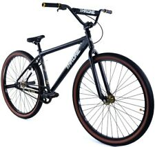 """Throne The Goon 29"""" Fixed Gear Single Speed Track Bicycle Bike Black NEW"""
