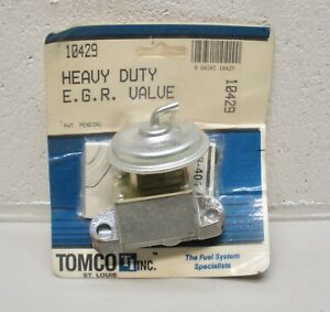 10429 Tomco Heavy Duty EGR Valve NOS fits FORD Bronco, Mustang, Gran Torino more