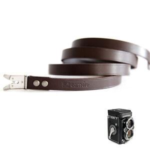Leather Shoulder Neck Strap for Rolleiflex 3.5F 3.5E3 3.5T 2.8E 2.8FX TLR Camera
