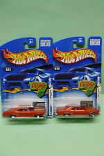 2 BUICK '64 RIVIERIA roues différentes HOT WHEELS 2002 BLISTER US 1/64 3 INCHES