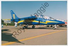 Colour print showing Belgian Air Force Alpha Jet AT18 at RAF Fairford in 1999